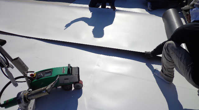 Single-Ply - Charter Roofing & Waterproofing