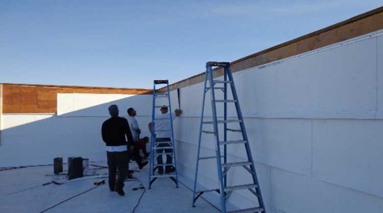 Parapet Wall Inspection - Charter Roofing & Waterproofing